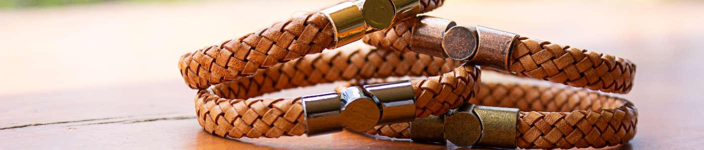 fashion leather bangles
